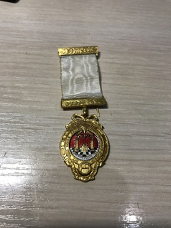 Масонський знак йоркського обряду / Королівської арки Серебро, Срібло
