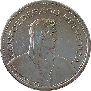 Швейцария 5 франк 1931,серебро