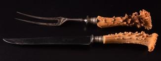 Набор для мяса Нож Вилка Othello Solingen Anton Wignen