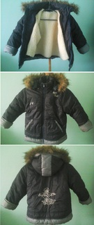 Зимняя куртка, для мальчика 8-9лет, сост.нового