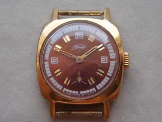 Часы Зим позолоченные СССР