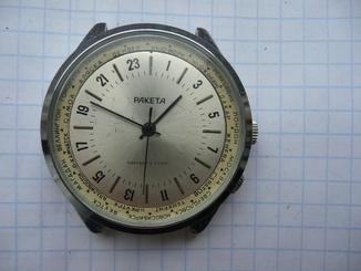 Часы Ракета 24