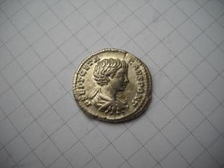 Денарий Гета (209-211)
