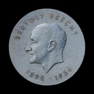 10 Марок 1973 75 лет со дня рождения Бертольта Брехта, Германия ГДР