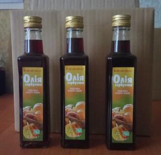 Тыквенное масло / гарбузова олія / холодного отжима (10 шт)