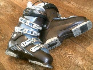 Salomon - лыжные  ботинки разм.41