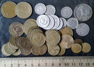 47 монет 1922-1957 гг.