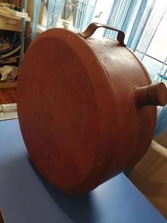 Канистра 30 литров металлическая круглая