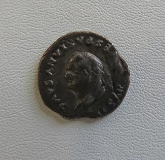 Веспасиан 69-79 гг динарий