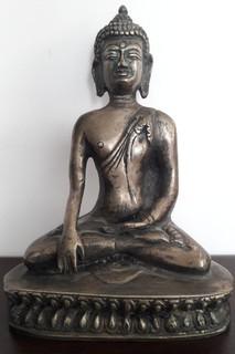 Будда,бронзовая статуэтка 19 век.