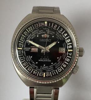 Часы Orient World Dover GMT 70-e годы