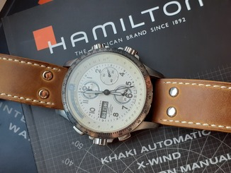 Hamilton Khaki Aviation X-Wind Chronograph Automatic Комплект
