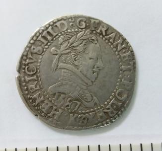 1/2 франка Генрих 3