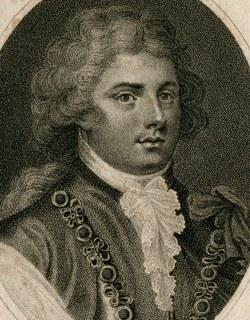 Гравюра. 1794. Британия. Джорж, принц Уэльский, художник Дж. Чепмен