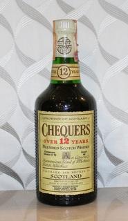 Виски Chequers 12 years - 1970s