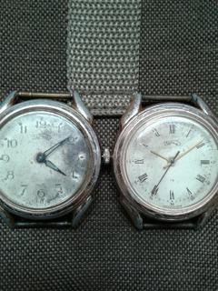 Часы Урал большие две штуки
