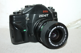 Фотоаппарат ZENIT 212K + Super Carenar 35-70мм/3.5-4.8