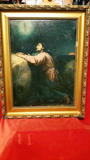 ''Моление о Чаше в Вифлеемском саду'',19 в.,х/м. Копия.
