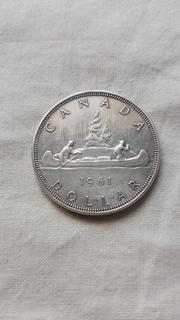 Канада, 1 доллар 1961г