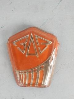 Эмблема передней решетки на ЗаЗ 966, ЗаЗ 968