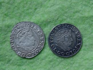 Лот монет 1538,1540гг.