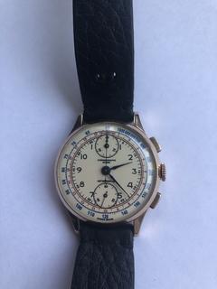Золотые часы Chronographe (Швейцария)750 проба