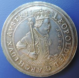 Талер Австрия Леопольд 1628