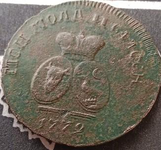 Пара 3 деньги 1772 год
