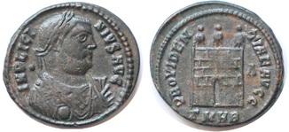Лициний I фоллис RIC 547
