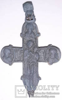 Рельєфний енколпіон Купятицька Богородиця,12-13 ст.