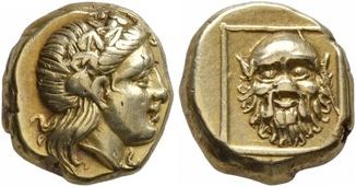 Гекта Древней Греции остров Лесбос 377-326 г. до н.э