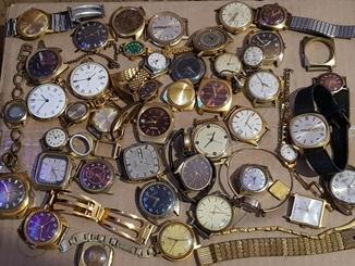 Часы позолота  45+