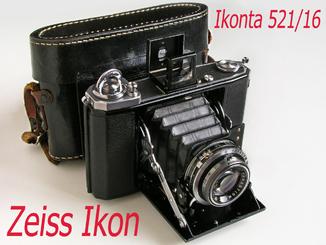 Ikonta 521/16,Zeiss Ikon,1938 г.,Германия.