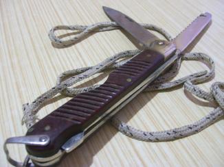 Нож лётчика ВВС СССР (стропорез)