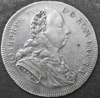 1/2 Талера 1775 год,  Регенсбург. Иосиф II