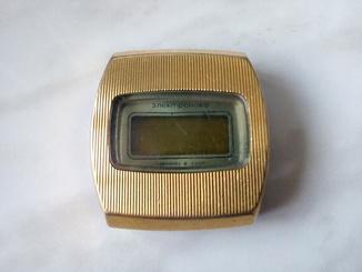 Часы Электроника позолота Au10-