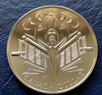 Canada 1 dollar 2000
