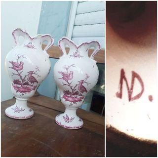 Две вазы, Франция, очень старинные