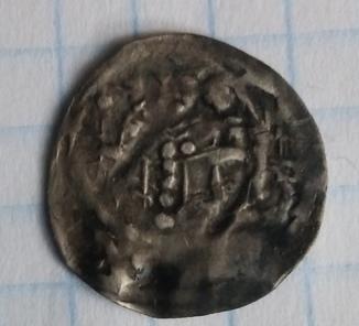 Середньовічна Європейська монетка