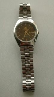 Часы Ориент Orient родной браслет,рабочие.