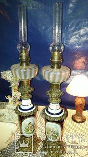 Французские керосиновые лампы