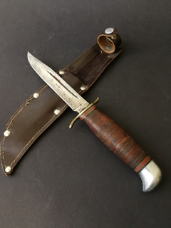 Армейский нож финка. J. A. Hellberg Eskilstuna Швеция. Швеция.