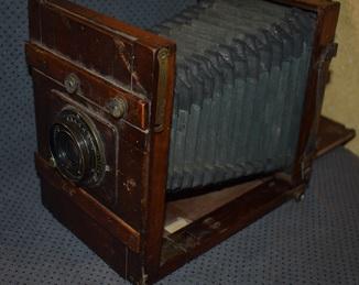 Фотоаппарат студийный  C.P. Goerz Berlin F=180 mm doppel anasticmat