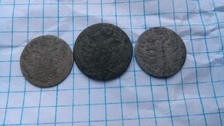 5 грош 1819 року, 5 грош 1827 року і 10 грош 1816 року