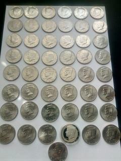 Набор 50 центов США Кеннеди- погодовка 49 шт. (см. опись)