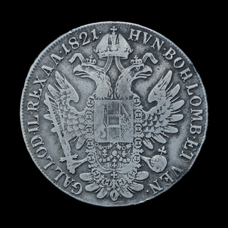 1 Талер 1821 А, Австрия