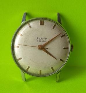 Часы. Ракета / мех. 2609А