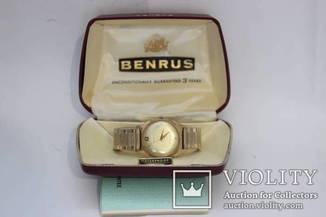 Часы Benrus в коробке с книжкой