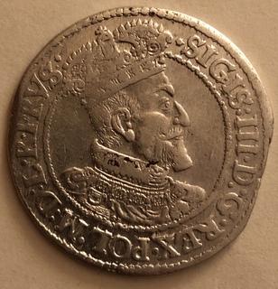 Гданский орт 1619 год R1