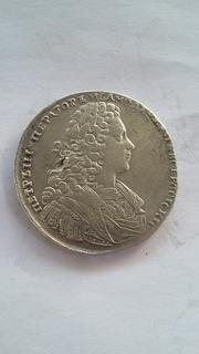 Рубль 1728г.